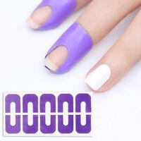 BORN PRETTY Peel Off Tape Spill-resistant Nail Protector U-shape Finger Sticker