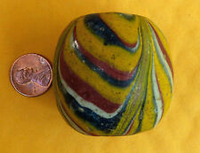 Ancient Pre Majapahit Rainbow Pelangi Bead 250BC-600AD VERY RARE!!