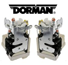 Pair Set of 2 Front Door Lock Actuator Motors Dorman for Chevy Tahoe GMC Sierra