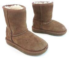UGG Kids Classic Short Sheepskin Boot - Chestnut US Size 9