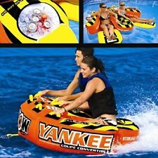New WOW Yankee Coupe 2-Person Towable Tube - Part 13-1070