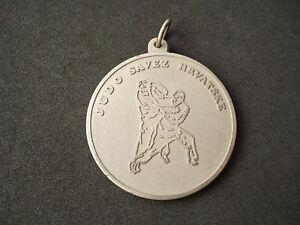 Judo, Croatian Federation, 1990, Samobor Cup, medal; plaque, martial arts