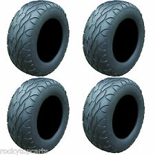 Set of 4 Golf Cart Tires 22x11.00R-10 Street Fox Radial Tires For Lifted Carts