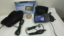 GARMIN GPSMAP 496 Portable Aviation-Marine-Land Navigation  WITH ACCESSORIES
