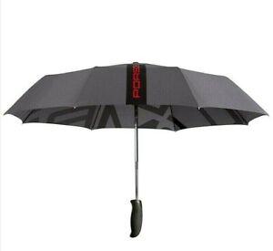 Genuine Porsche Driver's Selection Compact Folding Automatic Umbrella - ON SALE!