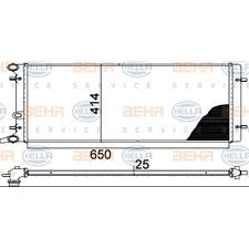 Kühler Motorkühlung - Hella 8MK 376 888-784