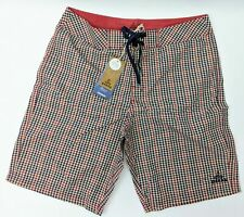 Men's prAna El Porto Short Dark Blue M3ELPO113 Size 30 SwimTrucks Board Shorts