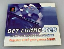 Sony PlayStation 2 PS2 Underground Registration Card 2003 Play Station