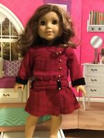 American Girl Rebecca Classic Historical  Girl Doll  Hazel Green Eyes