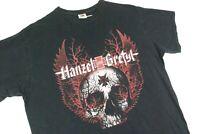 Hanzel Und Gretyl Black Forest Metal Concert Tour T Shirt Mens XL Black Death