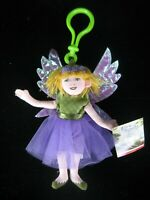 The Fairy Chronicles Thistle Doll - Ornament Toy Pixie Fairies Magic Wings Luck