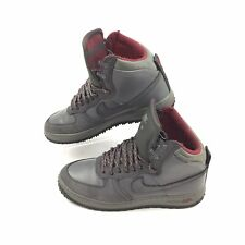 Nike Air Force 1 Hi Deconstructed Mens Military Boot 537889-001 Size 9.5