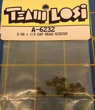 Team Losi A-6232 2-56 x 1/4 Cap Head Screws from Mid-America Naperville