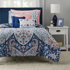New listing Gypsy Medallion 10-Piece Bed in a Bag Comforter Set, King, 2 Day Delivery