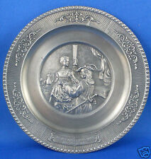 Antique WMF Germany PEWTER Zinn Ges Gesch REMBRANDT Plate VG Man Cave - in Aust
