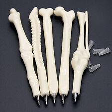 Funny Novelty Ball point Pen Bone Shape Nurse Doctor Student Creative Gift efo