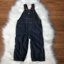 Oshkosh Bgosh Vestbak Overalls Baby Infant Denim Jean...