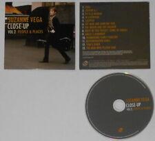 Suzanne Vega - Close-Up Vol. 2  -  U.S. promo cd, card covet