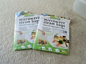 QUICKASTEAM MICROWAVE STEAM BAGS LARGE SIZE 25 PK – HEALTHY STEAM COOKING