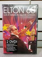 NEW Elton John Elton 60 Live at Madison Square Garden DVD FREE SHIPPING