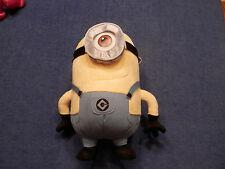 "Despicable Me 2 Stuart Minion  3 D Goggle 12"" Plush One Eye"