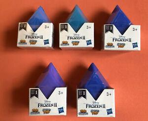 5 x Frozen 2 Pop Adventures Series 1 Surprise Figure Party Blind Bags Diamonds