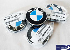 Original BMW Nabenabdeckung mit Chromrand 65mm 68mm Felgendeckel Nabendeckel