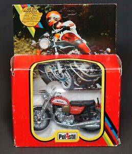 1970's Polistil Italy Club-33 Suzukyi 750.cc Motorcycle 1/24 Model NEW Box Mint