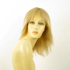 perruque femme 100% cheveux naturel longue blonde ref FABIENNE  22