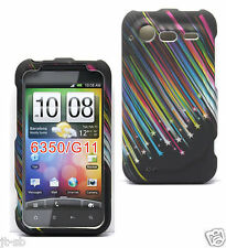 Star Rubber Hard Case For HTC Droid Incredible 2 II/S ADR6350/ADR6350VW Phone