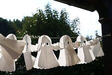 FESTONE FANTASMI 4 m fantasmi bianchi Addobbi festa halloween