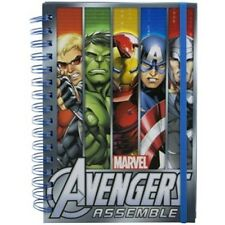 RETRO MARVEL AVENGERS A5 NOTEBOOK BRAND NEW HULK, THOR, CAPTAIN AMERICA