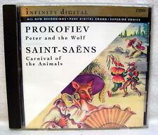 Prokofiev Peter/Wolf Saint-Saens Carnival Anima USED CD