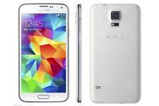 NEW SAMSUNG GALAXY S 5 SM-G900F S5 WHITE UNLOCKED(Latest Model) - 16GB 4G LTE