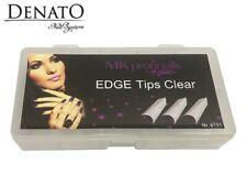 Edge Tips Clear 500pcs UV LED Gel Nail Art High Quality Flexible Tips Denato UK