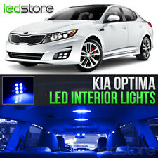 Blue LED Lights Interior Kit Package Bulbs For 2011-2018 Kia Optima