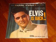 ELVIS PRESLEY Elvis is Back! RCA LIVING STEREO US 2x 200g LP LSP-2231 NEW SEALED
