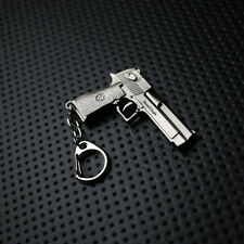 Desert Eagle Metallic Gun Keychain US Seller
