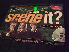 Harry Potter 2nd Edition Scene it  The DVD Game  by Screen Life/Mattel
