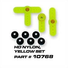 Heavy Duty Yellow Servo Saver w/CNC Top for RC Cars, OFNA 10768