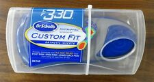 NEW 100% AUTHENTIC DR. SCHOLLS CUSTOM FIT CF330 ORTHOTIC INSERTS SHOE INSOLES