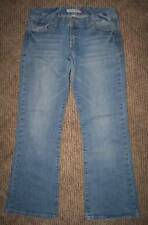 AEROPOSTALE KAILEY SKINNY FLARE Lt-WASH JEANS WOMENS 9/10 SHORT
