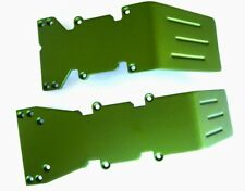 T-Maxx and E-Maxx Olive Green  Anodized Skid Plate Set