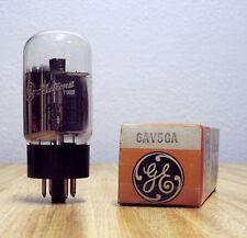 Ge General Electric 6Av5Ga Beam Power Amplifier Tube Grey Plates Nos Tested