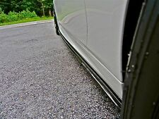 BMW F10 M5 or M TECH 100% REAL CARBON FIBER SIDE SKIRT DIFFUSER LIP EXTENSIONS