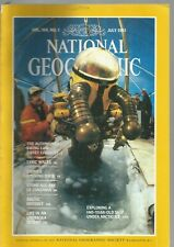 National Geographic July 1983 Automobile/Wales/China Zones/Stone Age Art/Arctic
