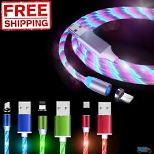 Upgraded Nylon Fast Magnetic Charging Phone Cable with LED Indicator RayMy Magnetic Charger Cable i /& Type-c, Golden