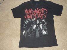 HOLLYWOOD UNDEAD BAND T-Shirt Black Size L  Rap rock metal 2012 (F8 26)