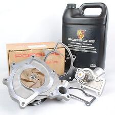 Genuine Porsche Water Pump Kit 987/997 With LOW TEMP Thermostat