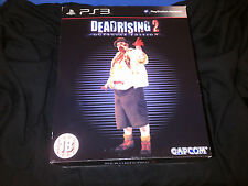 NEW DEAD RISING 2 OUTBREAK Collectors Edition PlayStation 3 PS3 w/ Fat Zombie